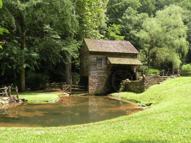 Small mill on Cutalossa Farm