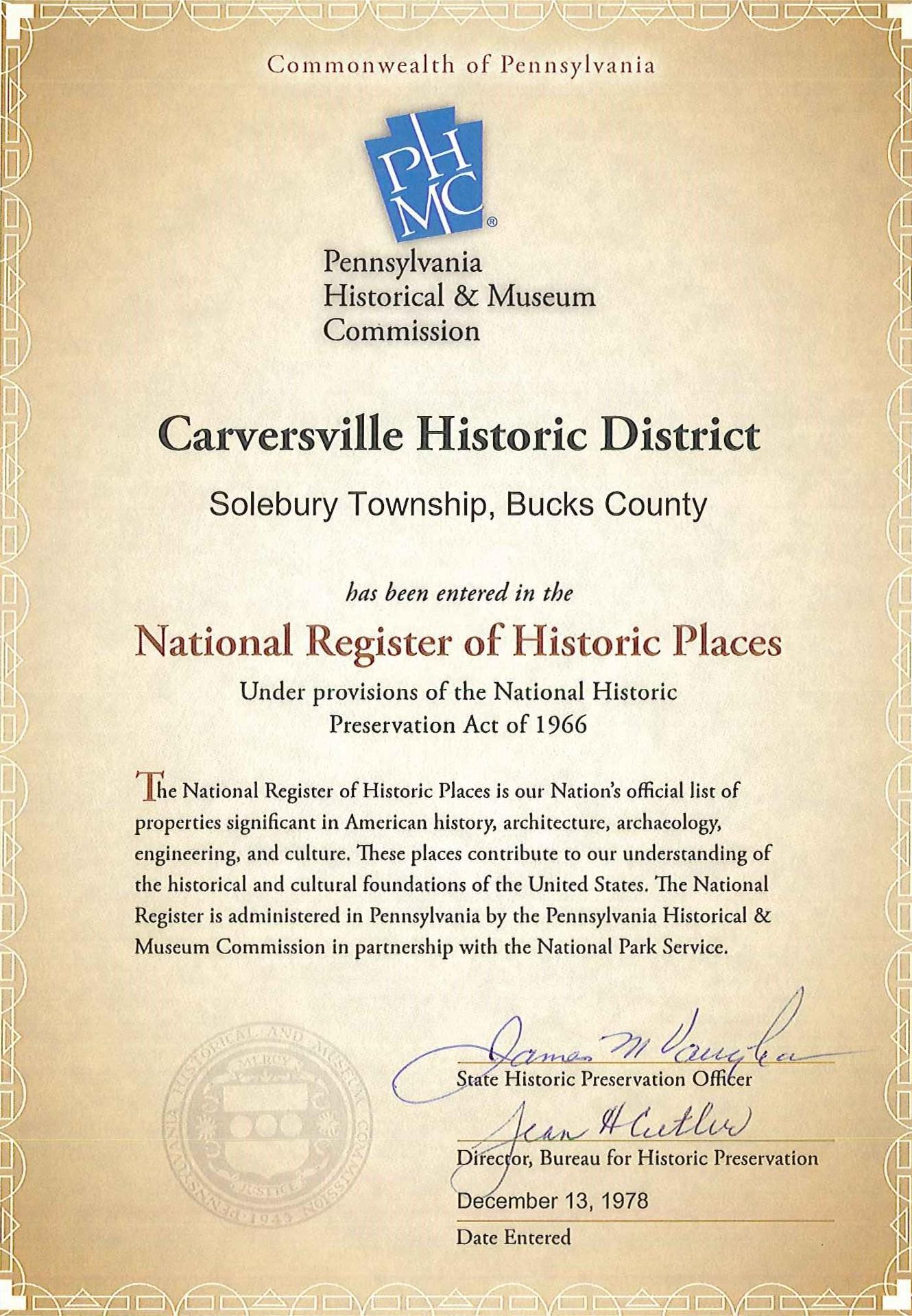 STHS_Carversville-HDCert