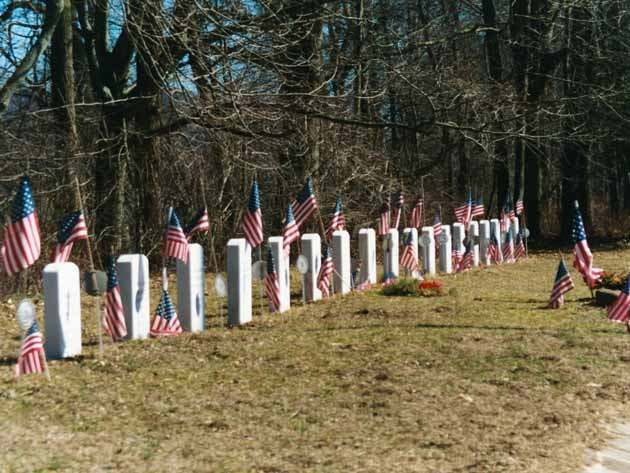 Soldier's Graves, Washington Crossing State Park