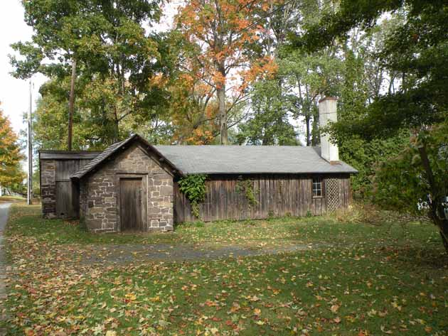 Outbuilding on the Oliver Paxson farm