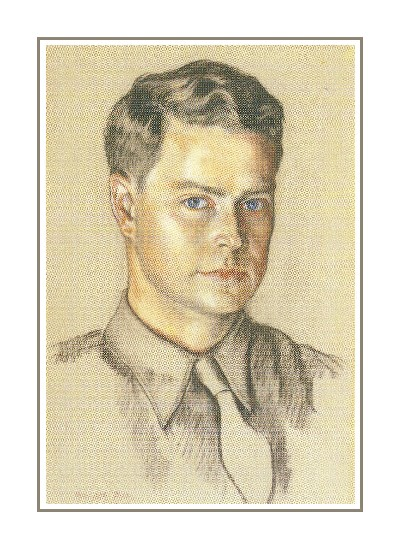 Self-portrait of Ranulph Bye circa 1940